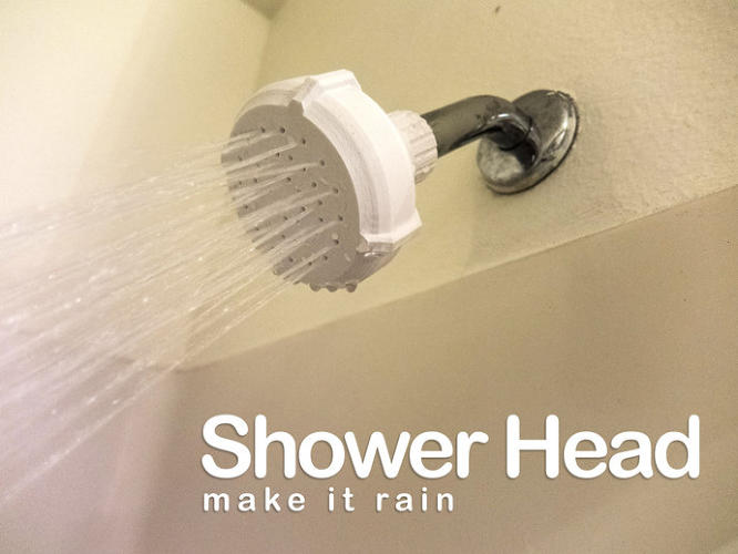 <p>New research says that because you can now download plans to 3-D print so many household items, you can offset the cost of a 3-D printer. Is this the start of a 3-D printer in every home? Do you like this 3-D printed shower head?</p>