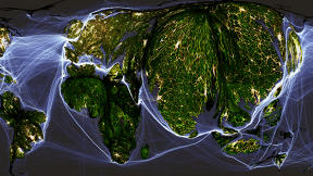 Crazy Maps Show The World Organized By Human Activity