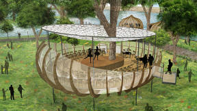Can These Crazy High-Tech Tree Structures Get More People Into Green Space?