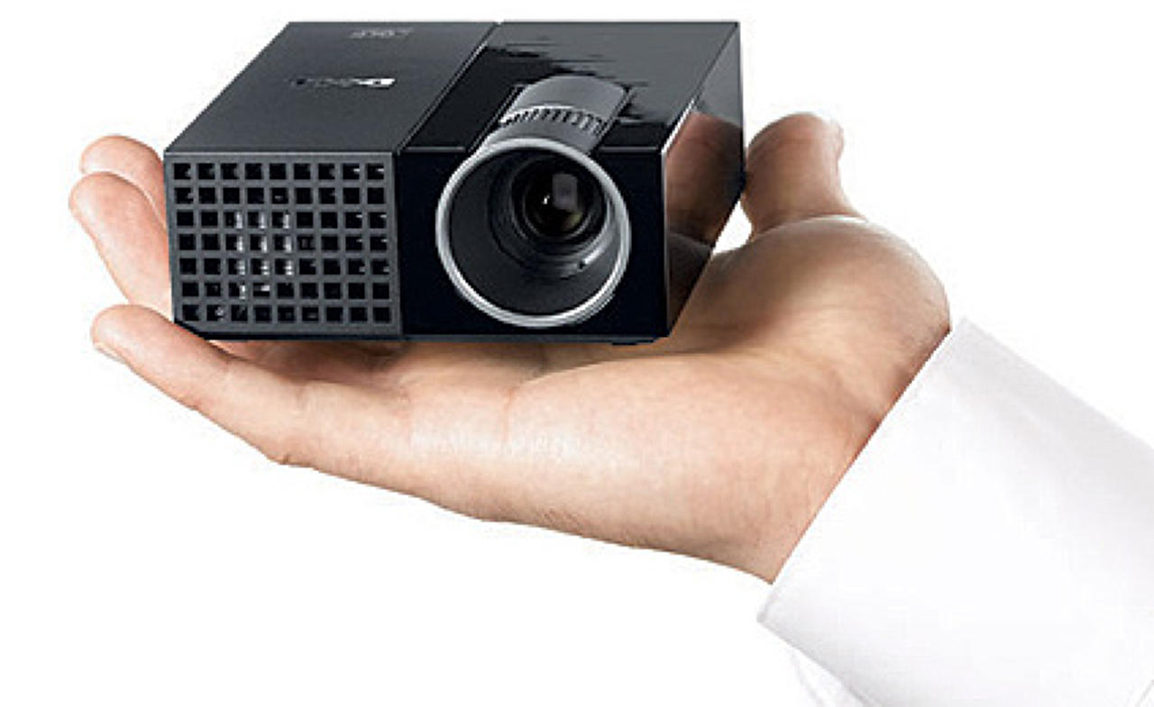10 tiny pico projectors that fit in the palm of your hand