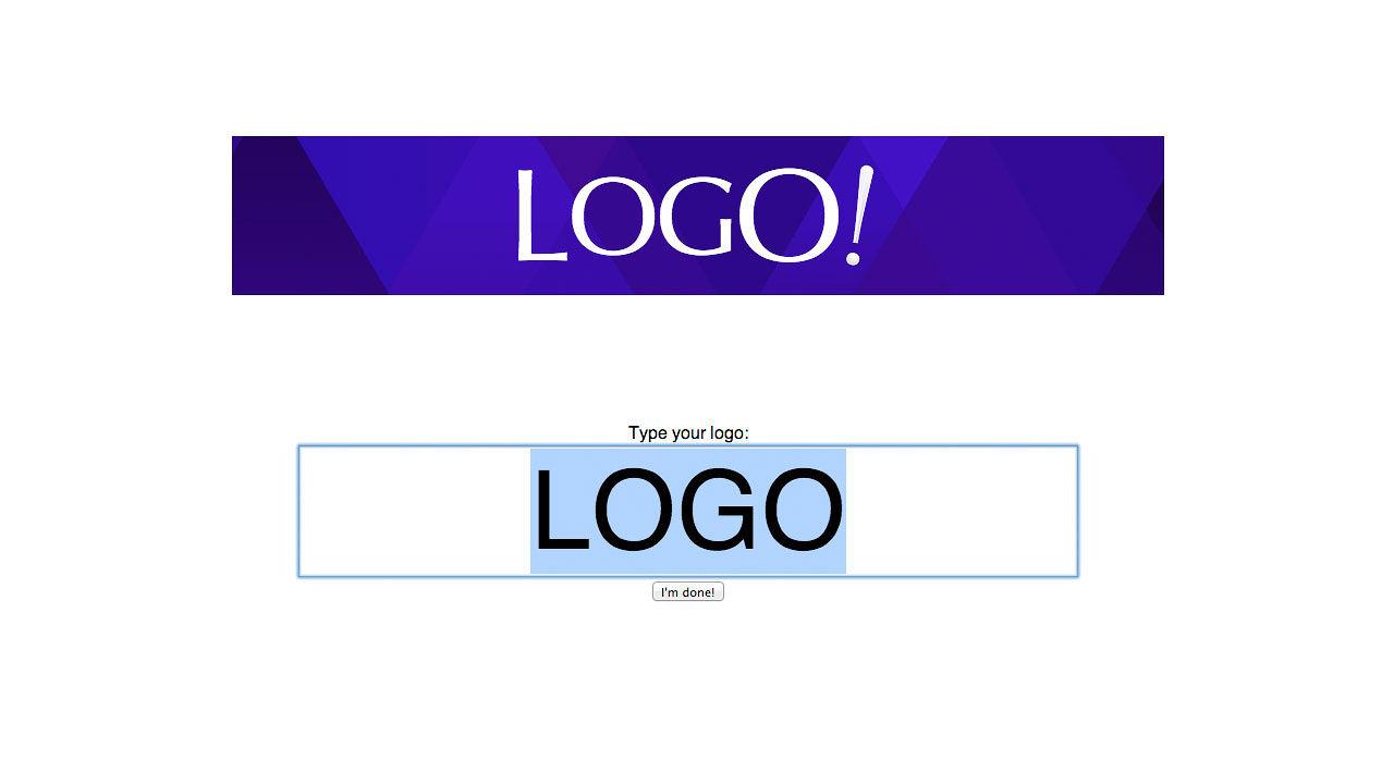 Logo generator for Hipster logo generator