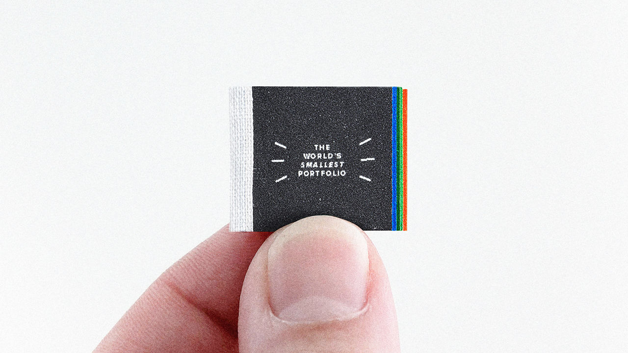 Portfolio Design Ideas how to design a print portfolio youtube Only The Biggest Ideas Make It Into The Worlds Tiniest Design Portfolio Codesign Business Design