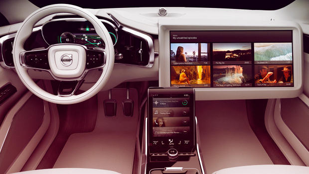Volvo's Prototype Car Interior Reimagines The Driving Experience