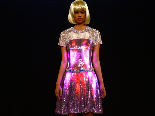 Geek Gets Chic With Cutecircuit S High Tech Fashion Co