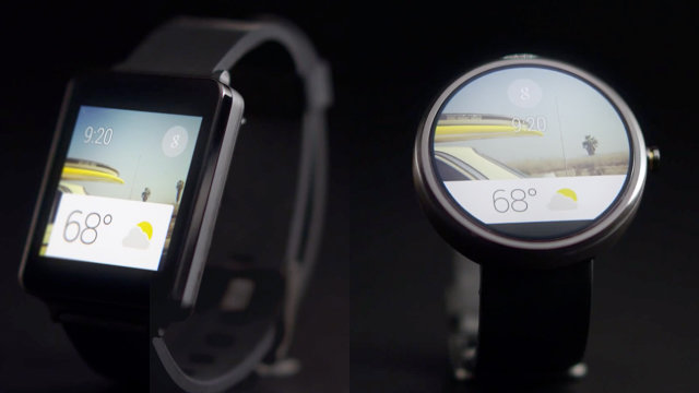 Google just revealed the first decent smartwatch interface co design business design for Watches google