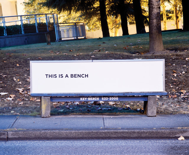 these park benches welcome the homeless instead of
