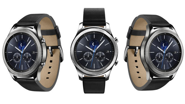 Samsung Unveils Its (Large) New Gear S3 Smartwatch