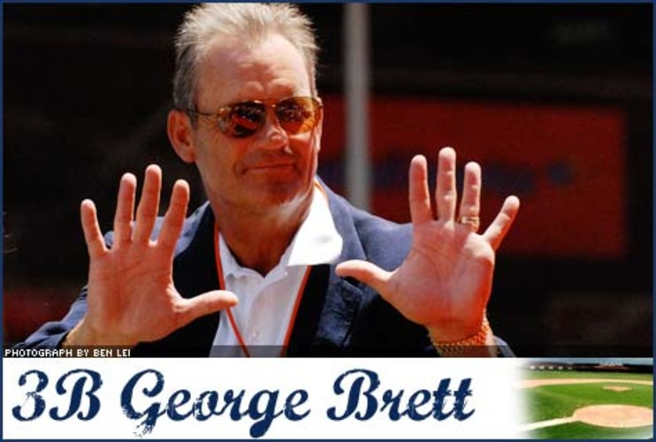 <p> The Royals righty couldn't just rub a little pine tar on a torn knee ligament he suffered in the spring of 1989, so Dr. Andrews repaired it. The following year, George Brett batted .329 and was one of the highest-paid players in the league, bringing home over $2.25 million in salary.  </p>