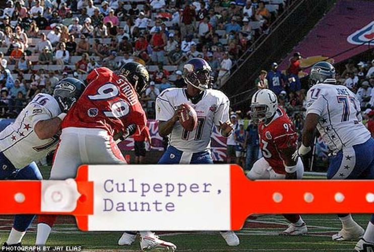 "<p> In November 2006, Daunte Culpepper had arthroscopic knee surgery. He then had a second operation to remove scar tissue. In his comeback game as a Raider, he showed off Andrews' handiwork by rushing for three touchdowns against his former team, the Dolphins, in his ""revenge game."" At press time, he was considered the best quarterback without a job and it's expected he'll get a call to step in as a backup soon. </p>"