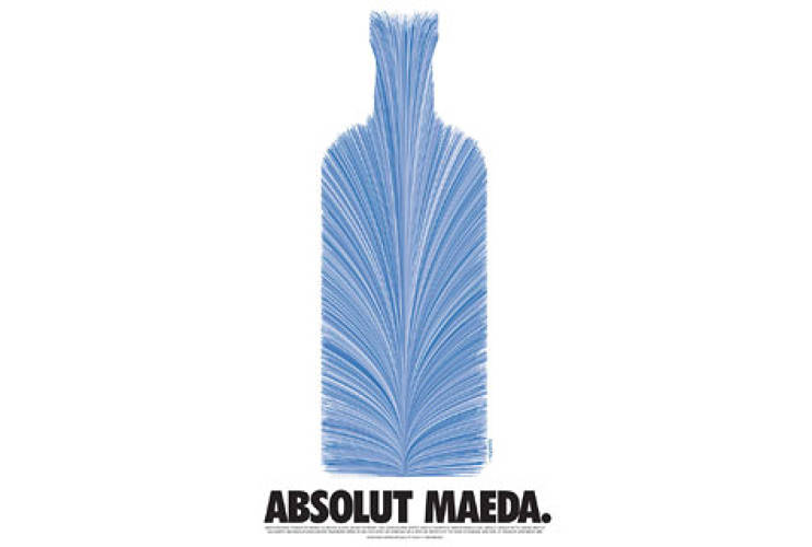 <p> Absolut Vodka ad, 2004.  </p>