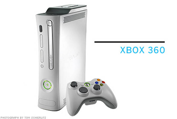 <p> Astro's best-known design is the Xbox 360. The firm continues to design accessories, including the controller for a trivia game (bottom).  </p> <p> <strong>From $350 for console; $60 for trivia controller</strong>  </p>