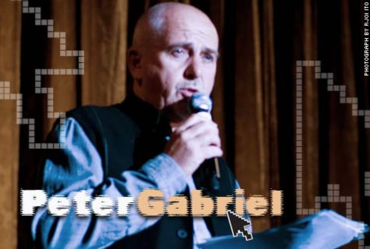 <p>Former rock star <a href=&quot;http://www.iht.com/articles/2008/08/10/business/10peter.php&quot; target=&quot;_new&quot;>Peter Gabriel</a> has a thing for the Internet. In addition to his YouTube-like video platform dedicated to human rights activism, called <a href=&quot;http://www.fastcompany.com/magazine/130/in-your-eyes.html&quot; target=&quot;_new&quot;>the Hub</a>, he's invested in two music-related ventures: We7, a site that promotes free and legal music downloads that have advertising attached; and TheFilter.com, which acts sort of like Pandora for music, movies and videos.</p>