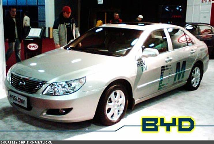 <p>In China, BYD - Warren Buffett is an investor - plans to roll out the hybrid F6DM by the end of 2008, followed in 2009 by the all-electric F6E.</p>