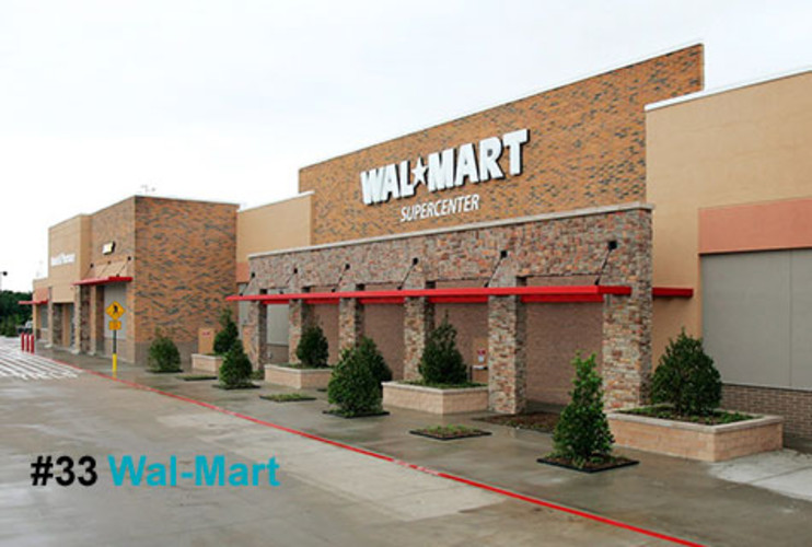 <p>The recession has been particularly hard on retailers, except for the biggest one of all. Wal-Mart sales rose 6.5% in 2008, and its stock price jumped 19.5%. When former CEO Lee Scott -handed the reins to Mike Duke this February, he had much to be proud of, especially the way Wal-Mart has embraced sustainability. &quot;We're not green,&quot; the never-satisfied Scott declared last March. But under his leadership, Wal-Mart got greener every day.</p> <p><a href=&quot;http://www.fastcompany.com/fast50_09/profile/list/wal-mart&quot; target=&quot;_new&quot; title=&quot;Wal-Mart&quot;>-- Read the Full Profile</a></p>  <p><strong>The Fast Company 50 Navigation:</strong><br /> <a href=&quot;http://www.fastcompany.com/multimedia/slideshows/content/2009-fast-company-50.html?page=2&quot; title=&quot;Team Obama&quot;>01</a> | <a href=&quot;http://www.fastcompany.com/multimedia/slideshows/content/2009-fast-company-50.html?page=3&quot; title=&quot;Google&quot;>02</a> | <a href=&quot;http://www.fastcompany.com/multimedia/slideshows/content/2009-fast-company-50.html?page=4&quot; title=&quot;Hulu&quot;>03</a> | <a href=&quot;http://www.fastcompany.com/multimedia/slideshows/content/2009-fast-company-50.html?page=5&quot; title=&quot;Apple&quot;>04</a> | <a href=&quot;http://www.fastcompany.com/multimedia/slideshows/content/2009-fast-company-50.html?page=6&quot; title=&quot;Cisco Systems&quot;>05</a> | <a href=&quot;http://www.fastcompany.com/multimedia/slideshows/content/2009-fast-company-50.html?page=7&quot; title=&quot;Intel&quot;>06</a> | <a href=&quot;http://www.fastcompany.com/multimedia/slideshows/content/2009-fast-company-50.html?page=8&quot; title=&quot;Pure Digital Technologies&quot;>07</a> | <a href=&quot;http://www.fastcompany.com/multimedia/slideshows/content/2009-fast-company-50.html?page=9&quot; title=&quot;WuXi PharmaTech&quot;>08</a> | <a href=&quot;http://www.fastcompany.com/multimedia/slideshows/content/2009-fast-company-50.html?page=10&quot; title=&quot;Amazon&quot;>09</a> | <a href=&quot;http://www.fastcompany.com/multimedia/slideshows/content/2009-fast-company-50.html?page=11&quot; title=&quot;Ideo&quot;>10</a> <br /> <a href=&quot;http://www.fastcompany.com/multimedia/slideshows/content/2009-fast-company-50.html?page=12&quot; title=&quot;GE&quot;>11</a> | <a href=&quot;http://www.fastcompany.com/multimedia/slideshows/content/2009-fast-company-50.html?page=13&quot; title=&quot;Hewlett-Packard&quot;>12</a> | <a href=&quot;http://www.fastcompany.com/multimedia/slideshows/content/2009-fast-company-50.html?page=14&quot; title=&quot;Nokia&quot;>13</a> | <a href=&quot;http://www.fastcompany.com/multimedia/slideshows/content/2009-fast-company-50.html?page=15&quot; title=&quot;Gilead Sciences&quot;>14</a> | <a href=&quot;http://www.fastcompany.com/multimedia/slideshows/content/2009-fast-company-50.html?page=16&quot; title=&quot;Facebook&quot;>15</a> | <a href=&quot;http://www.fastcompany.com/multimedia/slideshows/content/2009-fast-company-50.html?page=17&quot; title=&quot;NextEra Energy Resources&quot;>16</a> | <a href=&quot;http://www.fastcompany.com/multimedia/slideshows/content/2009-fast-company-50.html?page=18&quot; title=&quot;Q-Cells&quot;>17</a> | <a href=&quot;http://www.fastcompany.com/multimedia/slideshows/content/2009-fast-company-50.html?page=19&quot; title=&quot;First Solar&quot;>18</a> | <a href=&quot;http://www.fastcompany.com/multimedia/slideshows/content/2009-fast-company-50.html?page=20&quot; title=&quot;IBM&quot;>19</a> | <a href=&quot;http://www.fastcompany.com/multimedia/slideshows/content/2009-fast-company-50.html?page=21&quot; title=&quot;Zappos&quot;>20</a> <br /> <a href=&quot;http://www.fastcompany.com/multimedia/slideshows/content/2009-fast-company-50.html?page=22&quot; title=&quot;Nintendo&quot;>21</a> | <a href=&quot;http://www.fastcompany.com/multimedia/slideshows/content/2009-fast-company-50.html?page=23&quot; title=&quot;Disney&quot;>22</a> | <a href=&quot;http://www.fastcompany.com/multimedia/slideshows/content/2009-fast-company-50.html?page=24&quot; title=&quot;Crispin Porter + Bogusky&quot;>23</a> | <a href=&quot;http://www.fastcompany.com/multimedia/slideshows/content/2009-fast-company-50.html?page=25&quot; title=&quot;TBWA\Worldwide&quot;>24</a> | <a href=&quot;http://www.fastcompany.com/multimedia/slideshows/content/2009-fast-company-50.html?page=26&quot; title=&quot;New England Sports Ventures&quot;>25</a> | <a href=&quot;http://www.fastcompany.com/multimedia/slideshows/content/2009-fast-company-50.html?page=27&quot; title=&quot;DSM&quot;>26</a> | <a href=&quot;http://www.fastcompany.com/multimedia/slideshows/content/2009-fast-company-50.html?page=28&quot; title=&quot;Nike&quot;>27</a> | <a href=&quot;http://www.fastcompany.com/multimedia/slideshows/content/2009-fast-company-50.html?page=29&quot; title=&quot;NPR&quot;>28</a> | <a href=&quot;http://www.fastcompany.com/multimedia/slideshows/content/2009-fast-company-50.html?page=30&quot; title=&quot;Barbarian Group&quot;>29</a> | <a href=&quot;http://www.fastcompany.com/multimedia/slideshows/content/2009-fast-company-50.html?page=31&quot; title=&quot;W.L. Gore & Associates&quot;>30</a> <br /> <a href=&quot;http://www.fastcompany.com/multimedia/slideshows/content/2009-fast-company-50.html?page=32&quot; title=&quot;Busboy Productions&quot;>31</a> | <a href=&quot;http://www.fastcompany.com/multimedia/slideshows/content/2009-fast-company-50.html?page=33&quot; title=&quot;Skidmore, Owings & Merrill&quot;>32</a> | <a href=&quot;http://www.fastcompany.com/multimedia/slideshows/content/2009-fast-company-50.html?page=34&quot; title=&quot;Wal-Mart&quot;>33</a> | <a href=&quot;http://www.fastcompany.com/multimedia/slideshows/content/2009-fast-company-50.html?page=35&quot; title=&quot;Microsoft&quot;>34</a> | <a href=&quot;http://www.fastcompany.com/multimedia/slideshows/content/2009-fast-company-50.html?page=36&quot; title=&quot;Ubisoft&quot;>35</a> | <a href=&quot;http://www.fastcompany.com/multimedia/slideshows/content/2009-fast-company-50.html?page=37&quot; title=&quot;Vestas&quot;>36</a> | <a href=&quot;http://www.fastcompany.com/multimedia/slideshows/content/2009-fast-company-50.html?page=38&quot; title=&quot;Chevron Energy Solutions&quot;>37</a> | <a href=&quot;http://www.fastcompany.com/multimedia/slideshows/content/2009-fast-company-50.html?page=39&quot; title=&quot;CAA&quot;>38</a> | <a href=&quot;http://www.fastcompany.com/multimedia/slideshows/content/2009-fast-company-50.html?page=40&quot; title=&quot;L-3 Communications&quot;>39</a> | <a href=&quot;http://www.fastcompany.com/multimedia/slideshows/content/2009-fast-company-50.html?page=41&quot; title=&quot;Weta Digital&quot;>40</a> <br /> <a href=&quot;http://www.fastcompany.com/multimedia/slideshows/content/2009-fast-company-50.html?page=42&quot; title=&quot;Lego&quot;>41</a> | <a href=&quot;http://www.fastcompany.com/multimedia/slideshows/content/2009-fast-company-50.html?page=43&quot; title=&quot;Emirates&quot;>42</a> | <a href=&quot;http://www.fastcompany.com/multimedia/slideshows/content/2009-fast-company-50.html?page=44&quot; title=&quot;Genzyme&quot;>43</a> | <a href=&quot;http://www.fastcompany.com/multimedia/slideshows/content/2009-fast-company-50.html?page=45 title=&quot;Etsy&quot;>44</a> | <a href=&quot;http://www.fastcompany.com/multimedia/slideshows/content/2009-fast-company-50.html?page=46&quot; title=&quot;BYD&quot;>45</a> | <a href=&quot;http://www.fastcompany.com/multimedia/slideshows/content/2009-fast-company-50.html?page=47&quot; title=&quot;Warner Music Group&quot;>46</a> | <a href=&quot;http://www.fastcompany.com/multimedia/slideshows/content/2009-fast-company-50.html?page=48&quot; title=&quot;Aravind Eye Care System&quot;>47</a> | <a href=&quot;http://www.fastcompany.com/multimedia/slideshows/content/2009-fast-company-50.html?page=49&quot; title=&quot;Toyota&quot;>48</a> | <a href=&quot;http://www.fastcompany.com/multimedia/slideshows/content/2009-fast-company-50.html?page=50&quot; title=&quot;Pelamis Wave Power&quot;>49</a> | <a href=&quot;http://www.fastcompany.com/multimedia/slideshows/content/2009-fast-company-50.html?page=51&quot; title=&quot;Raser Technologies&quot;>50</a></p>