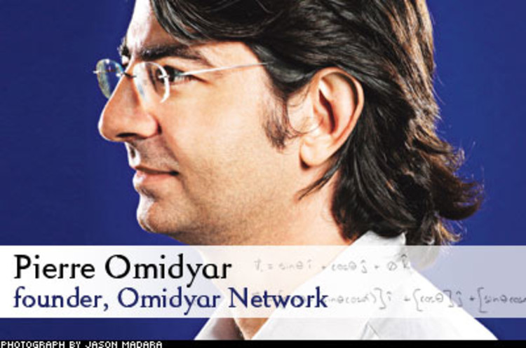 <p> Pierre Omidyar's network funds both nonprofits and for-profits. No matter, as long as they do good. Omidyar Network's model, which has invested $60 million in nonprofits and $45 million in for-profits, has been emulated by a new class of billionaire social investors. Omidyar's self-proclaimed mission is, &quot;to help more people connect and work on issues they care about, not the issues I care about.&quot;<br /> <a href=&quot;/magazine/113/open_fast50-qa-omidyar.html&quot; target=&quot;_blank&quot;>Learn More</a> </p>