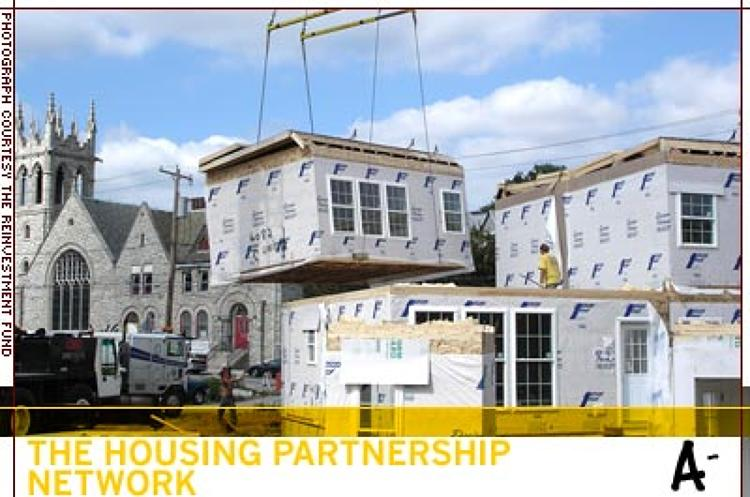 <p>The Housing Partnership Network is a peer network and business alliance of 87 of the top-performing nonprofit housing organizations in the United States. Network members have produced, financed or preserved more than 600,000 affordable homes in urban, rural, and suburban communities throughout the country, and have also counseled more than 400,000 families on homeownership and financial literacy. </p>