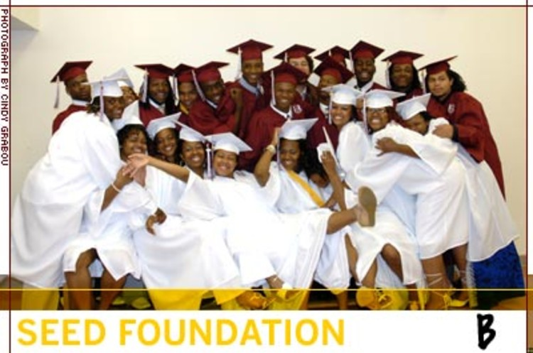 <p>The SEED Foundation establishes urban public boarding schools that prepare children academically and socially for success in college and in the professional world. Some 97% of SEED's graduates go to college, and 85% of those graduate.</p>