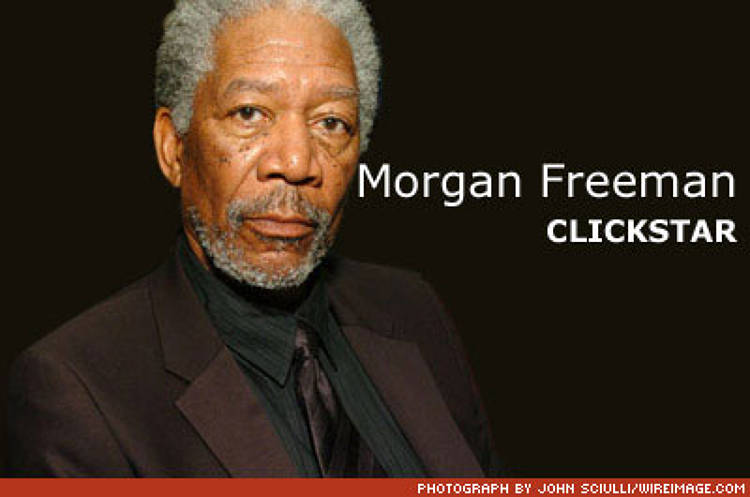 <p>Oscar-winning actor Morgan Freeman has gone from <em>Driving Miss Daisy</em> to driving old-school Hollywood insane. In July, Freeman announced that he was teaming up with Intel to launch ClickStar, a startup based in Santa Monica, California, built to distribute movies to computers at the same time they're released in theaters.</p><p><a href=&quot;http://www.fastcompany.com/magazine/101/open_hollywood-new-wave.html&quot;>Read more about Morgan Freeman.</a></p>