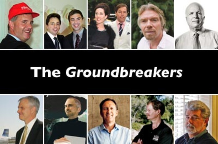 <p>Who are the groundbreakers? They are individuals who have left indelible marks on their markets and industries. Here we feature 10 such entrepreneurs who have experienced remarkable success, and in the process, changed how we live and how we do business.</p>