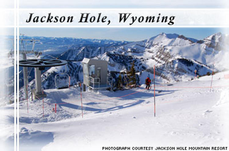 <p> Besides being a beautiful place to ski in the Western United States, Jackson Hole is also a leader among North American ski resorts for its success in implementing green initiatives. Here are some of its achievements: </p> <ul> 	<li>Purchase of enough renewable energy to reduce its carbon emissions to the equivalent of taking 3,822 cars off the road, or planting 5,282 acres of fully-grown trees.</li> 	<li>Using wind energy to power several of its chairlifts.</li> 	<li>Received ISO-certification as &quot;green company&quot; last year, the highest environmental distinction for responsible management of environmental impacts.</li> 	<li>Decreased private vehicle usage around the resort by 19 percent and increased bus ridership by 30 percent.</li> 	<li>Offers free parking to skiers who arrive with at least three people in the car.</li> </ul>
