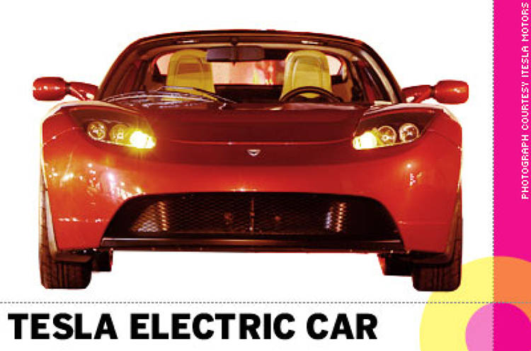 <p> &quot;Sexy, green and powerful, the <strong>Tesla electric car</strong> is a good aspiration and model for everyone to follow. That fact that it doesn't rely on the infrastructure of Detroit is refreshing.&quot; -- Clement Mok </p>