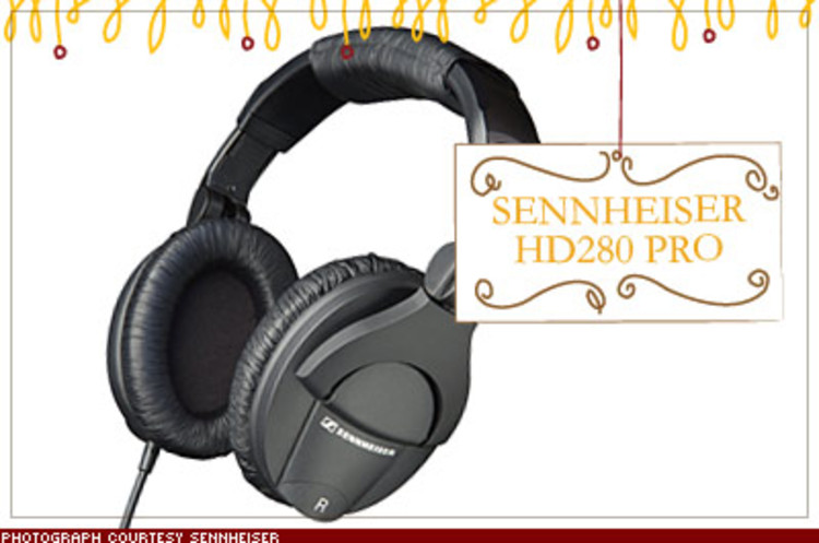 <p>Sennheiser's lightweight (10 ounces), foldable headphones offer professional-grade sound quality (clean bass notes and no hissing on the high frequencies) and 32 decibels of ambient noise reduction thanks to their extremely snug fit. $200; <a href=&quot;http://www.sennheiserusa.com&quot; target=&quot;_blank&quot;>sennheiserusa.com</a></p>