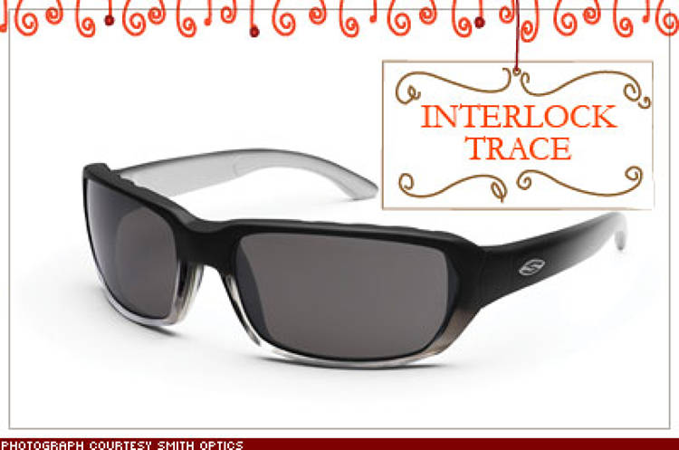 <p>Lugging a quiver of sunglasses around for different occasions (café meetings, drive time, fishing) is a thing of the past. Twist the ends of these shades and the frames open up, so you easily switch lenses. $139; <a href=&quot;http://www.smithinterlock.com&quot; target=&quot;_blank&quot;>smithinterlock.com</a></p>