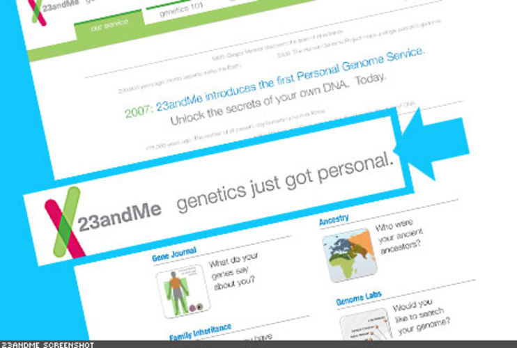 <p> Ever wondered why you were left-handed and your sibling or parent wasn't? 23andMe provides an analysis of your DNA, where you can learn more about yourself, your immediate family, and even your ancestry. You can even better understand your genetic tendencies for things like obesity or health issues. Users can find other members with similar genetic makeup and start discussions. It is $999 to order a kit for the DNA test.<br /> <a href=&quot;https://www.23andme.com/&quot; target=&quot;_new&quot; title=&quot;23andMe&quot;>https://www.23andme.com/</a>  </p>