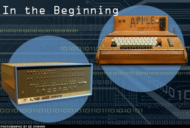 <p> It was 1975 when Bill Gates founded Microsoft to develop and sell the BASIC programming language for the Altair 8800, a microcomputer based on an Intel CPU. The following year, the first Apple fell from the tree … or emerged from Steve Wozniak's Los Altos bedroom. Priced at $666.66, the first Apple computer ran on BASIC as well, and wasn't even fully assembled – it lacked a keyboard, monitor and even a case. Fifty of the early models were sold to a local retailer, giving Apple's founders enough capital to keep their fledgling company afloat.  </p>
