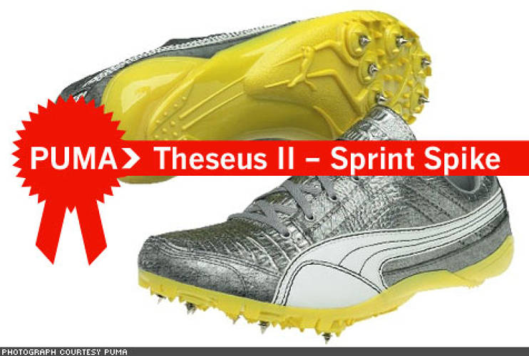 "<p> The original Theseus was developed for the 2004 Olympics and carried many athletes to the medal podium, so it's no surprise that Puma decided to tweak and improve its already-established design to guarantee Gold. Though almost all of Nike's shoes have Hellenic-inspired monikers (""Naftikos"" for sailing, ""Omada"" for rowing, etc.), Puma's Theseus was the original.  </p>"