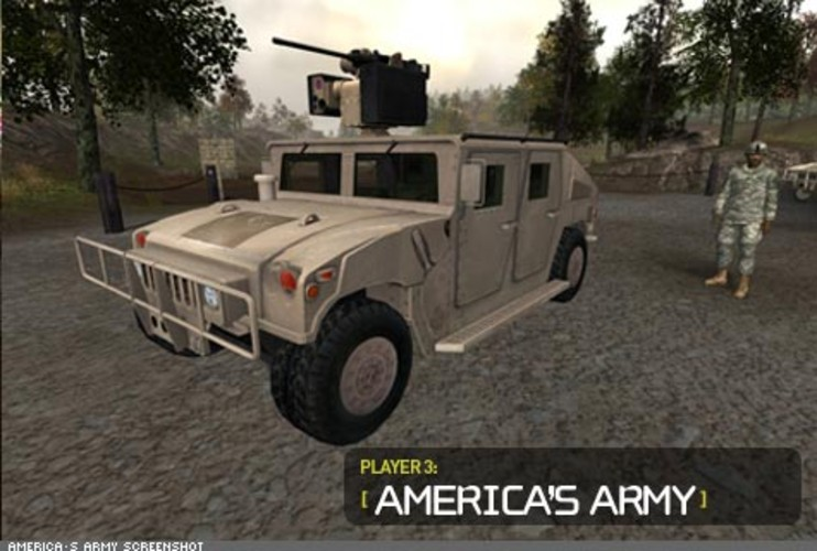 <p> America's Army is another serious game that was developed by the U.S. Army to recruit new soldiers. Created by soldiers, developed by gamers, and tested by heroes, the game is based on the real-life experiences of soldiers.  </p>