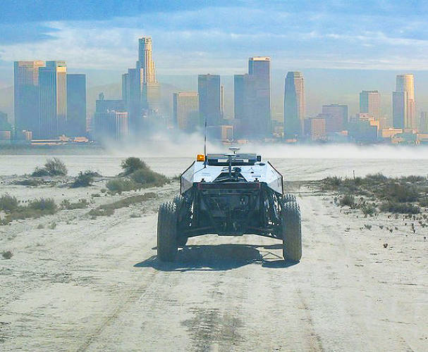 DARPA's <a href=&quot;http://www.darpa.mil/grandchallenge/index.asp&quot;>Grand Challenge, </a>which launched in 2004, was the first long distance competition for driverless cars. Over 100 teams registered during the competition's first year. The first year saw DARPA offer $1 million to Carnegie Mellon's Red Team, while the second year's grand prize was $2 million (Stanford Racing Team took the prize).
