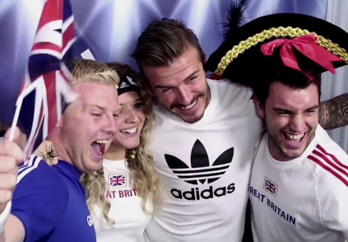 Fans at an Adidas-sponsored Olympic photo booth are shocked when they find themselves face to face with the man, the myth, the one they call Becks. </br></br> <a href=&quot;http://www.fastcocreate.com/1681297/david-beckham-surprises-fans-in-adidas-magic-photo-booth&quot;>Read more here</a>