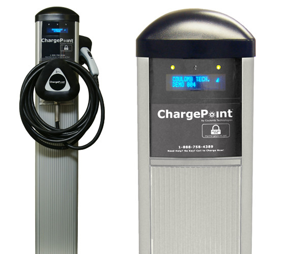 Like Better Place, Coulomb has already begun to roll out its Level II chargers. Last week, the company unveiled networked commercial stations in New York. The company also has $3.4 million from the California Energy Commission to install chargers in the state.