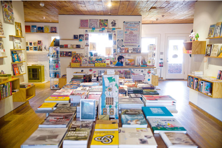 <p>In Jordan's downtime, one of his haunts is the eclectic Domy Books.</p> <p><a class=&quot;float-left&quot; href=&quot;http://www.fastcompany.com/magazine/155/fast-cities-2011.html&quot; target=&quot;_new&quot;><img src='http://images.fastcompany.com/upload/fast-cities.gif' alt='Fast Cities' border='0' /></a></p> <p>Read more about <a href=&quot;http://www.fastcompany.com/magazine/155/fast-cities-2011.html&quot; target=&quot;_new&quot;>Fast Cities 2011</a>.</p>