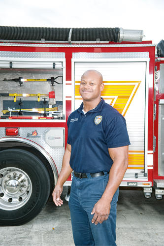 <p>35, a firefighter and an EMT, is a Houston native who went to Lamar High.</p> <p><a class=&quot;float-left&quot; href=&quot;http://www.fastcompany.com/magazine/155/fast-cities-2011.html&quot; target=&quot;_new&quot;><img src='http://images.fastcompany.com/upload/fast-cities.gif' alt='Fast Cities' border='0' /></a></p> <p>Read more about <a href=&quot;http://www.fastcompany.com/magazine/155/fast-cities-2011.html&quot; target=&quot;_new&quot;>Fast Cities 2011</a>.</p>