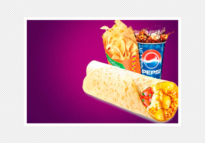 In India, Taco Bell sells American-style Mexican food tweaked for subcontinental taste buds. One of their menu's trademark items is the Potato & Paneer Burrito: A Taco Bell burrito with fried potato chunks, paneer (fresh Indian cheese), nacho cheese sauce, rice, and salsa. Due to the subcontinent's religious restrictions, the only fillings are paneer, potato, beans, and chicken.