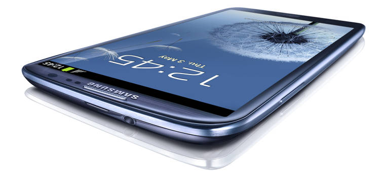 <p>Samsung's Galaxy S III smartphone is one of six products Apple has recently added to its ongoing patent-infringement lawsuit.</p>