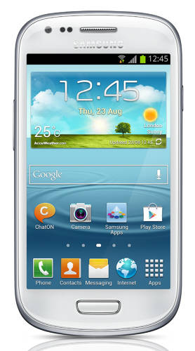 <p>The Galaxy S III mini has not been overlooked by Apple's lawyers.</p>