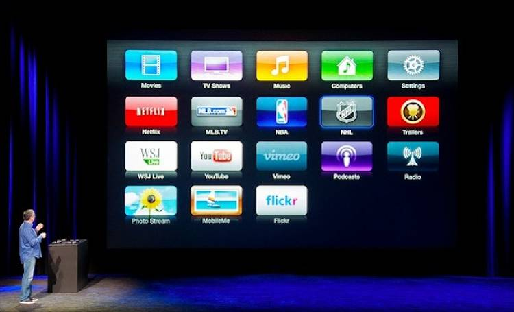 <p>Sometimes it feels like Apple's teasing us... this fresh UI for the Apple TV looks similar to the array of apps on an iPhone, but it's not. Yet iOS apps on a TV could completely change television, the way the iPhone changed cellphones. [Image: Flickr user <a href=&quot;http://www.flickr.com/deerkoski&quot; target=&quot;_blank&quot;> deerkoski</a>]</p>