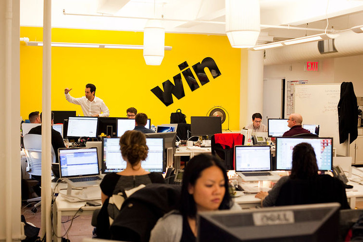 <p>BuzzFeed cofounder Jonah Peretti and chief creative officer Jeff Greenspan talk about how the company's open culture has <a href=&quot;http://www.fastcocreate.com/1681930/19-photos-of-buzzfeeds-offices-and-4-things-that-drive-buzzfeeds-culture-of-win#1&quot; target=&quot;_self&quot;>supported its growth in audience and mandate and what's next</a>.</p>