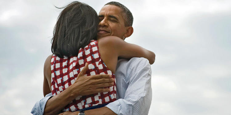 <p><a href=&quot;http://www.fastcompany.com/3002986/single-tweet-president-obama-revealed-how-become-powerful-social-brand&quot; target=&quot;_self&quot;>President Obama</a> and the First Lady celebrate their win. As of this writing, &quot;Four more years&quot; has been re-tweeted almost 900,000 times and favorited by almost 300,000 people. But what the tweet reveals about social branding is far more telling.</p>