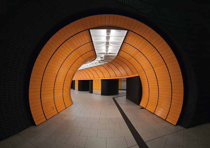 <p><a href=&quot;http://www.fastcodesign.com/1671221/photographing-munichs-gorgeous-subway-stations-eerily-devoid-of-passengers#1&quot; target=&quot;_self&quot;>Nick Frank's pictures</a> capture the creepy, futuristic beauty of the German city's tube stations.</p>