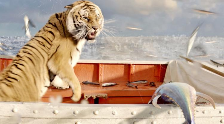 <p>The Life of Pi earned Best Picture and Directing nominations among its amazing total of 11. The movie, unlike many 3-D peers, is <a href=&quot;http://www.fastcocreate.com/1682006/fish-and-tigers-and-skies-oh-my-the-visual-magic-in-life-of-pi#1&quot; target=&quot;_self&quot;>said to have</a> pushed the art of 3-D moviemaking beyond mere sensationalism.</p>