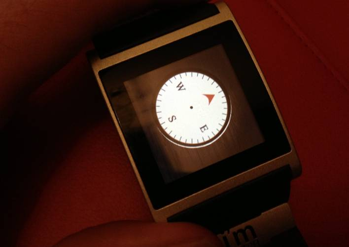 <p>Oddly enough, having a wrist-based compass app has been very useful to me twice inside two weeks. Accessible inside just a second or two--no fishing inside a pocket for a phone--it proves there's sometimes a slender advantage in wearable smart devices.</p>