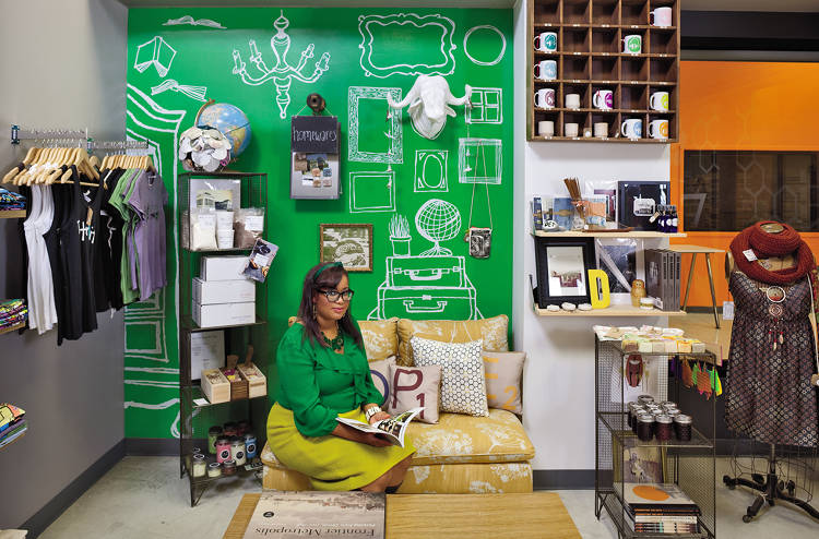 <p>In addition to her retail shop, Margarita Barry runs a design business and a website for young entrepreneurs.</p>