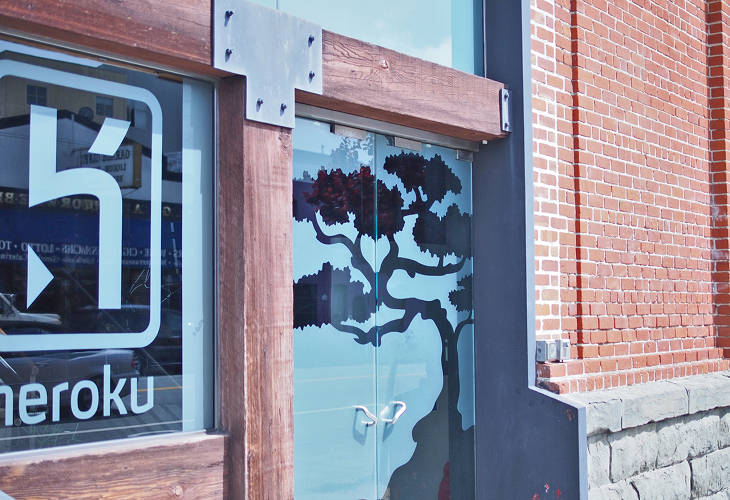 <p>Heroku's vibe starts at the company's front door.</p>