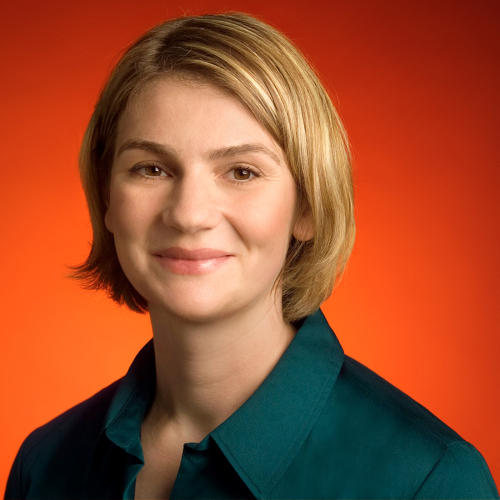 <p>Johanna Wright, Product Management Director for Web Search. At I/O 2013, Wright debuted many of the mobile features of Google's instant answers: where to find food, reminders about calling friends, and other pre-emptive actions.</p>