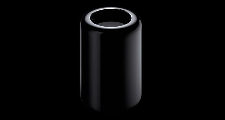 <p>The new Mac Pro. Tall, sleek, round and mysterious.</p>
