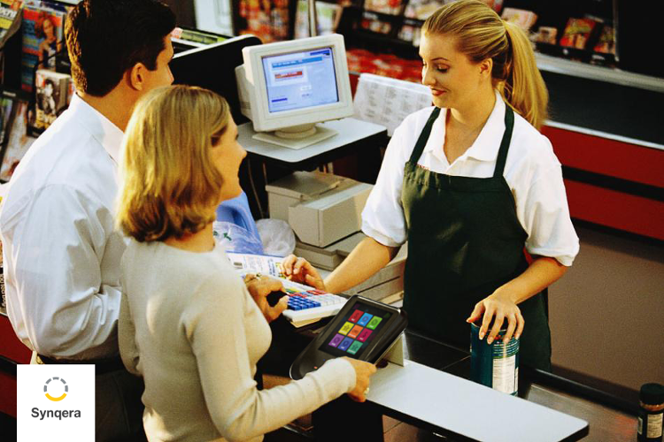 <p>Retailers are encouraged to customize the programming on their payment stations, which also provide instant customer analytics.</p>